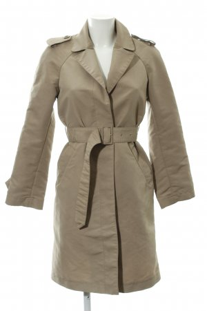 Stefanel Parka sandbraun Business-Look