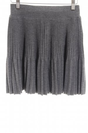Stefanel Pleated Skirt grey casual look