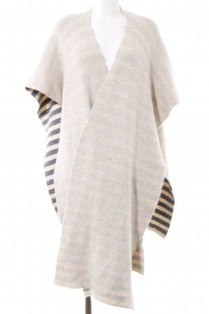 Stefanel Poncho hellbeige Casual-Look