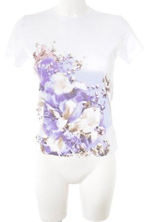 Stefanel Print-Shirt florales Muster Casual-Look