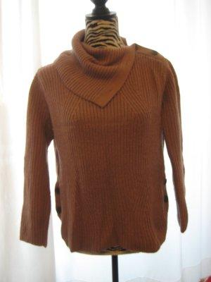 Stefanel Wool Sweater grey lilac-dusky pink alpaca wool