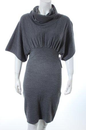 Stefanel Pulloverkleid grau Casual-Look
