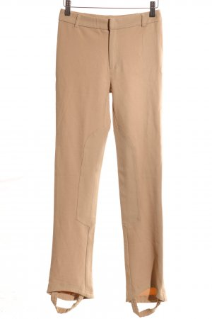 Stefanel Riding Trousers nude casual look