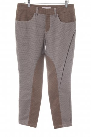 Stefanel Riding Trousers houndstooth pattern rider style
