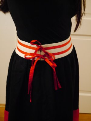 Stefanel Circle Skirt multicolored silk
