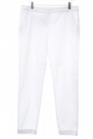 Stefanel Drainpipe Trousers white casual look