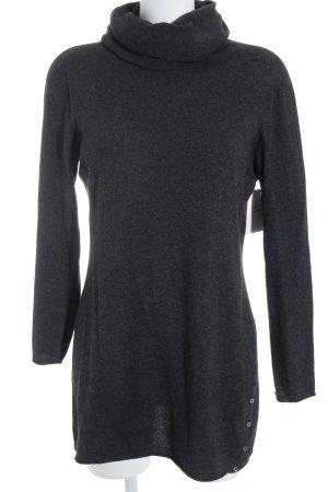 Stefanel Turtleneck Sweater dark grey casual look