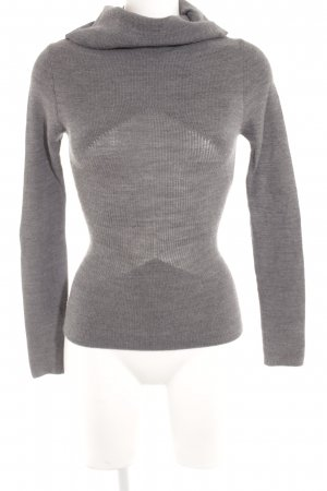Stefanel Turtleneck Sweater grey casual look
