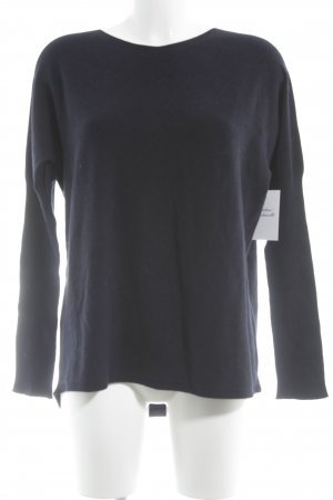 Stefanel Crewneck Sweater dark blue casual look