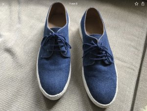 Stefanel Schuhe Halbschuhe Jeans Jeansstoff 40,5  1 mal getragen