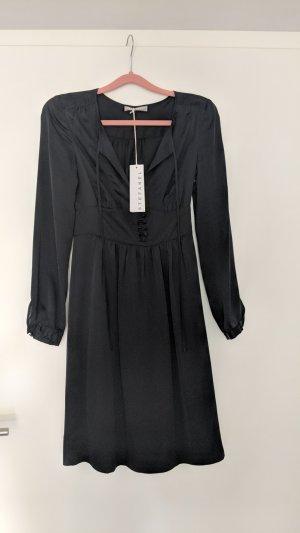 Stefanel schwarzes Seidenkleid ungetragen