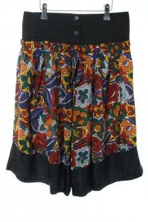 Stefanel Silk Skirt allover print casual look