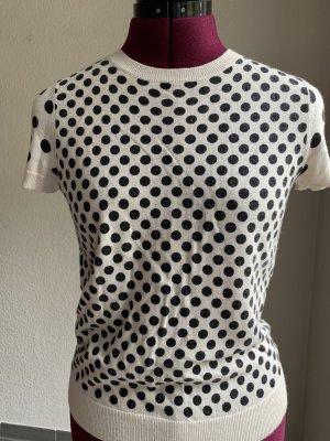 Stefanel Camicia maglia bianco sporco-nero