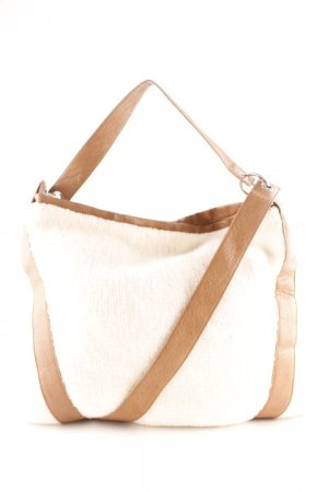 Stefanel Shopper braun-creme Casual-Look