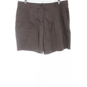 Stefanel Shorts dunkelbraun Casual-Look