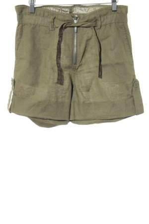 Stefanel Shorts olivgrün Casual-Look