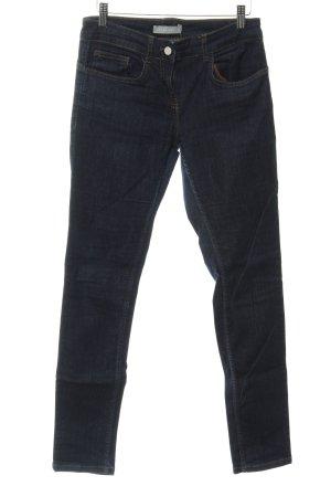 Stefanel Skinny Jeans dunkelblau Casual-Look