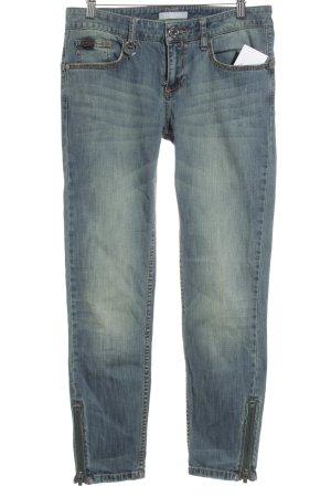 Stefanel Skinny Jeans graublau Casual-Look