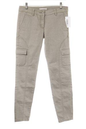 Stefanel Skinny Jeans graubraun Casual-Look