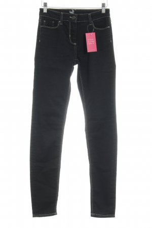 Stefanel Skinny Jeans schwarz Casual-Look