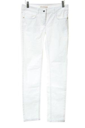 Stefanel Skinny Jeans weiß Casual-Look