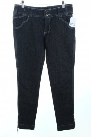 Stefanel Slim Jeans anthrazit Casual-Look