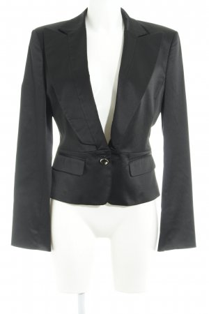 Stefanel Smoking-Blazer schwarz Casual-Look