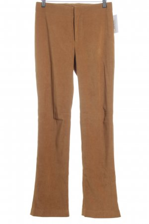 Stefanel Stoffhose camel Business-Look