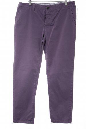 Stefanel Stoffhose lila Casual-Look