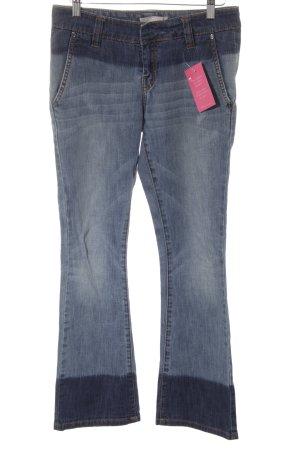Stefanel Straight-Leg Jeans blau Casual-Look