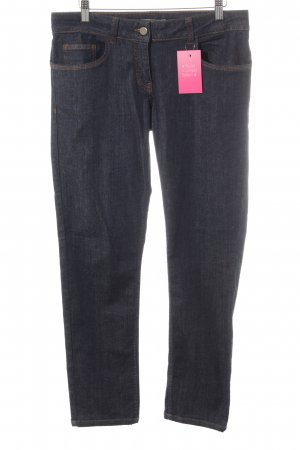 Stefanel Straight-Leg Jeans dunkelblau Casual-Look