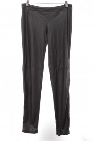 Stefanel Stretchhose dunkelbraun Casual-Look
