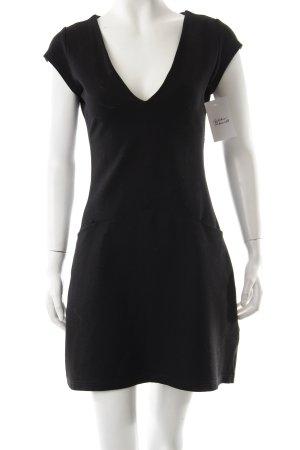 Stefanel Stretchkleid schwarz sportlicher Stil