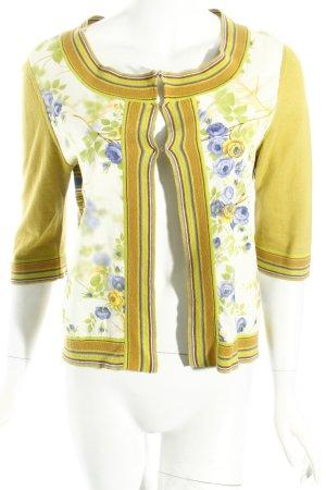 Stefanel Strick Cardigan florales Muster Casual-Look