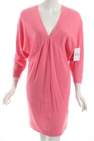 Stefanel Strickkleid pink klassischer Stil