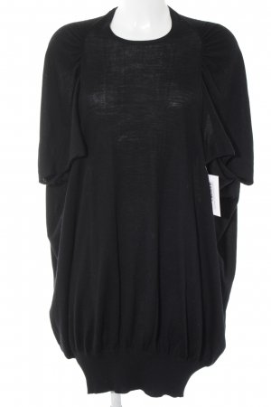 Stefanel Abito di maglia nero stile casual