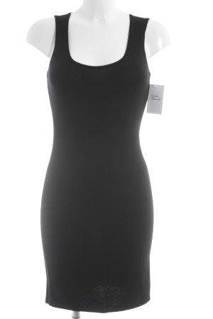 Stefanel Strickkleid schwarz Elegant