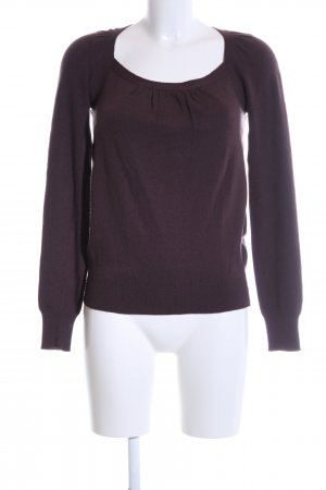 Stefanel Strickpullover braun Casual-Look