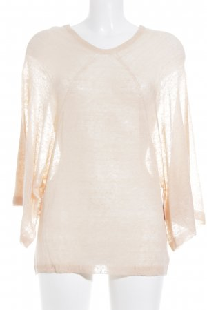 Stefanel Strickpullover apricot Casual-Look