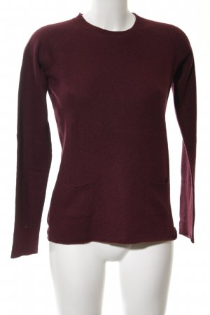 Stefanel Strickpullover rot Casual-Look