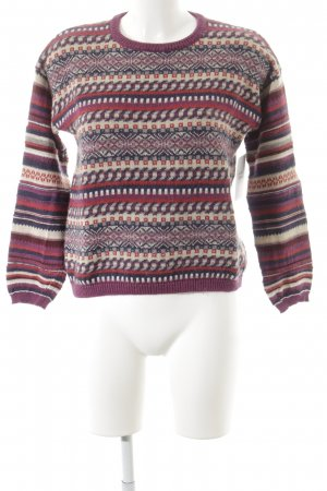 Stefanel Strickpullover Mustermix Casual-Look
