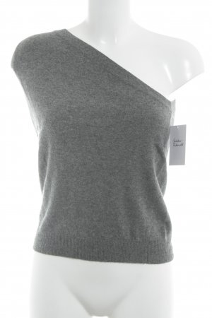 Stefanel Knitted Jumper grey classic style
