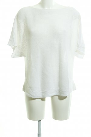 Stefanel Knitted Jumper white casual look