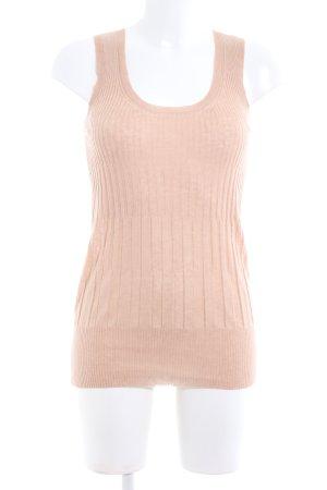 Stefanel Haut tricotés rose chair style décontracté