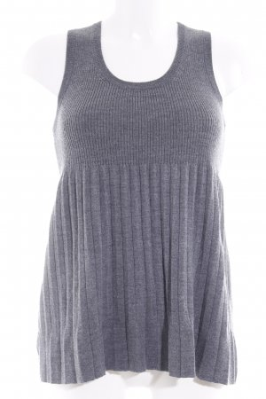 Stefanel Knitted Top grey casual look