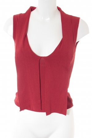 Stefanel Knitted Top red simple style