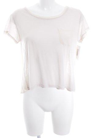 Stefanel T-Shirt altrosa Street-Fashion-Look