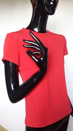 STEFANEL, T-shirt, kräftiges rot, Gr.M, neuwertig