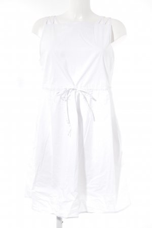 Stefanel Pinafore dress white casual look