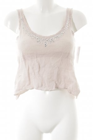 Stefanel Strappy Top dusky pink romantic style